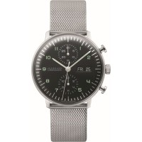 Zegarek Junghans 0274500.45 Max Bill Chronoscope