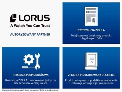 certyfikat lorus