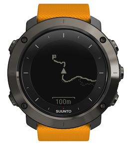 zegarek pomarańczowy Traverse